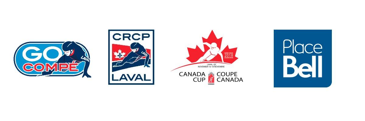 Coupe Canada courte piste 2018 - Place Bell - Laval - 16 au 18 novembre 2018