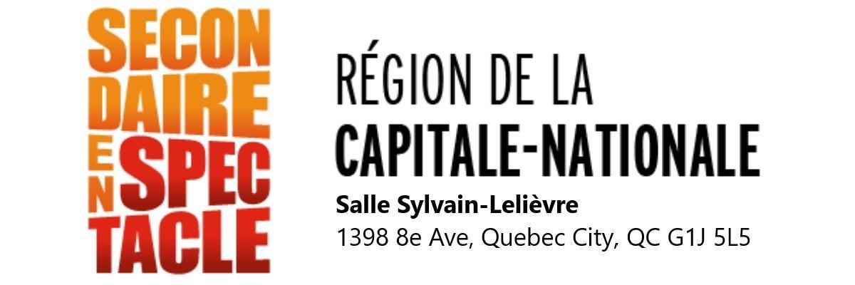 Finales régionales de Secondaire en spectacle - Capitale-Nationale